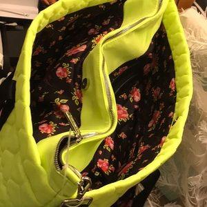 Betsy JOHNSON RARE HEART HUGE 21 IN XL BAG